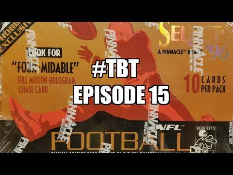 1996 Pinnacle Select Football Hobby Box. Throwback Thursday Episode 15