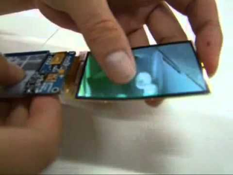 SAMSUNG Flexible AMOLED Display - Hammer Test