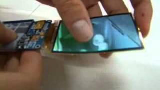 SAMSUNG Flexible AMOLED Display - Hammer Test