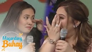 Magandang Buhay: Karla gets emotional with her sister's message