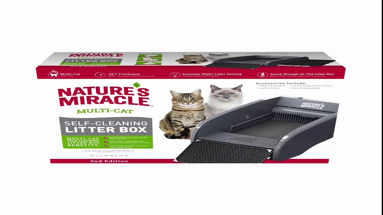 Best Self Cleaning Litter Box 2020.Top 4 Automatic Self Cleaning Cat Litterboxes For 2019