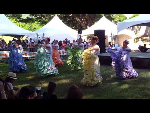Traditional Puerto Rican dance in Hawaii.