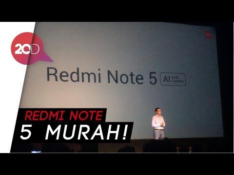 Sudah Dirilis, Berapa Harga Redmi Note 5?