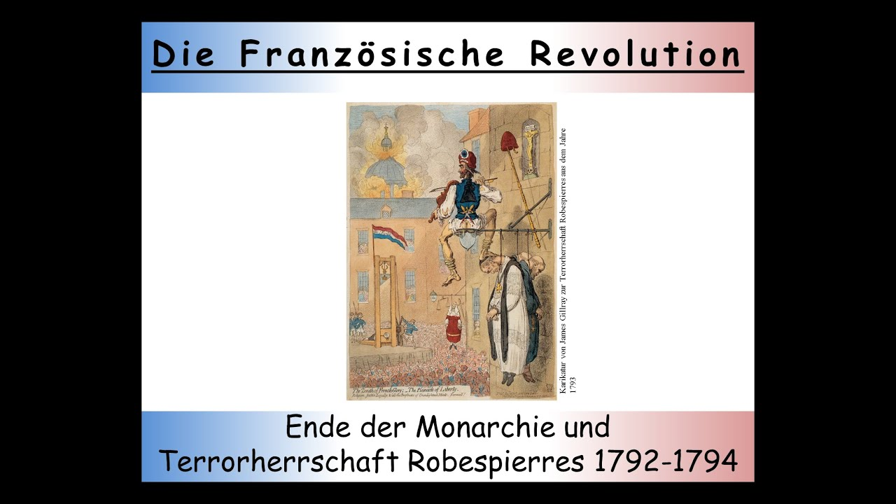 Französische Revolution Zusammenfassung Teil 3 Die Zweite Phase