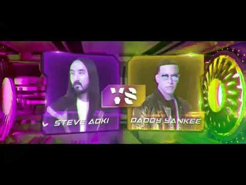 AZUKITA-(Video Oficial Edición)Steve Aoki, Daddy Yankee, Play N Skillz & Elvis Crespo