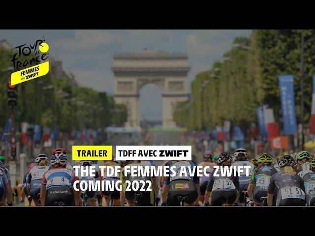 Tour de France Femmes avec Zwift - Trailer