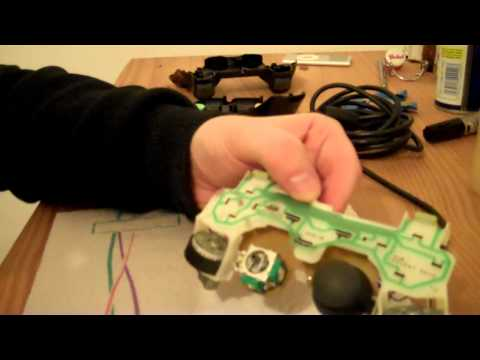 Fixing a couple of PS2 controllers (includes worn analogue stick fix)
