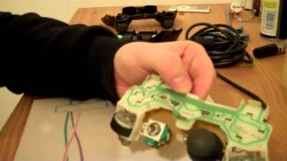 Fixing A Couple Of Ps2 Controllers Includes Worn Analogue Stick Fix Youtube
