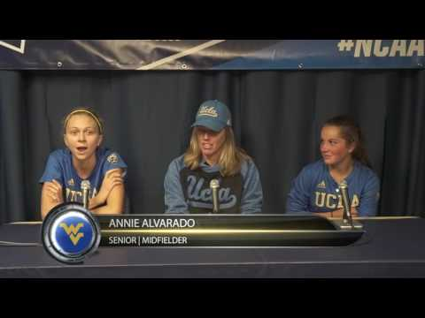 Women's Soccer: UCLA Post Game Interview | 11/18/16
