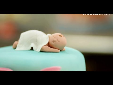 How to Shape Baby Figurine from Fondant | Cake Decorations
