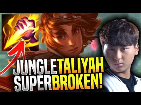 New Taliyah Jungle is so Broken! - SKT T1 Blank Picks New Taliyah Jungle! | SKT T1 Replays