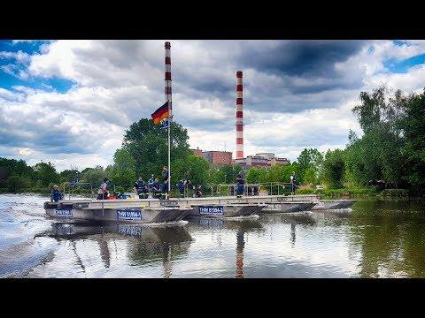 THW FGr Wassergefahren Nordenham & Ingolstadt 2017