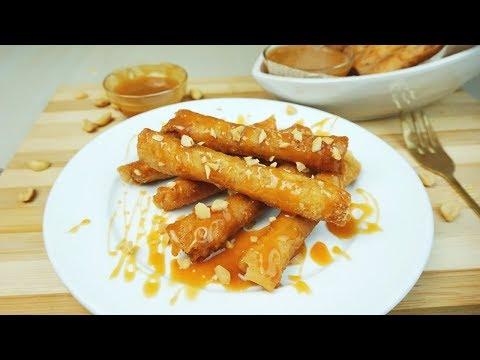 Peanut Rolls (Easy Snacks | Easy Dessert)