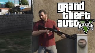 "GTA 5: Free Roam Gameplay Episode 1 ""The Hood"""