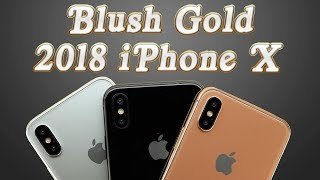 Blush Gold iPhone X (2018) Vs Every Color iPhone X Vs 6 5
