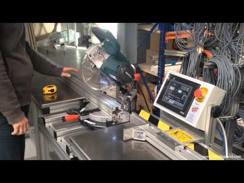 Aluminium profiles cutting PA-1