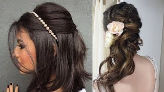 Latest Beautiful hairstyle for Long Hair girls | Bun hairstyles for Girls