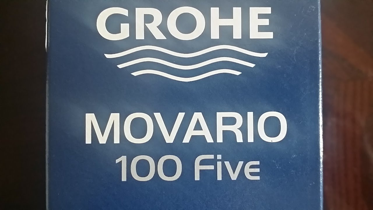 The Mesmerizing Grohe Movario: perfect showering experience! - YouTube