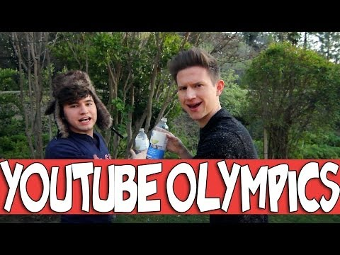 YOUTUBE OLYMPICS W/ JC CAYLEN | RICKY DILLON