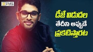 Allu Arjun DJ Duvvada Jagannadham First Look Release Date - Filmyfocus.com