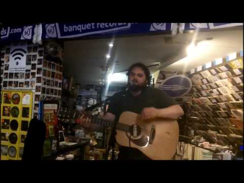 Chris T-T in-store at Banquet Records