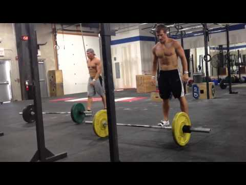 CrossFit 515 - Air Force WOD in 3:42 (B. Noyce)