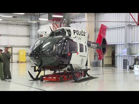 Las Vegas Metropolitan Police Department introduces new helicopter
