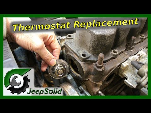 Jeep Wrangler YJ Thermostat Replacement