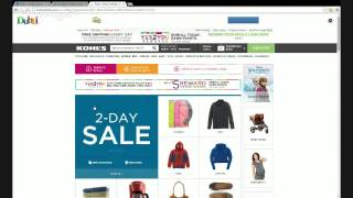How To Get Up to 8.6% Cashback from Kohl's On Cyber Monday