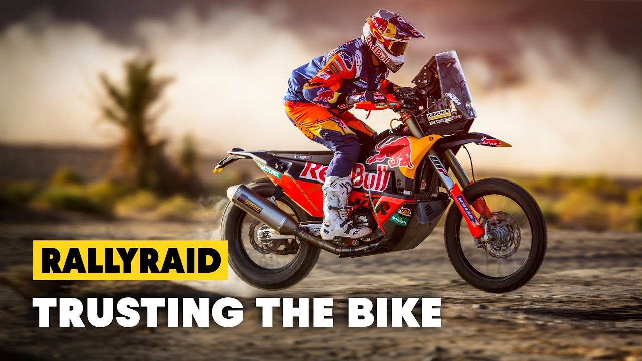 A New Motorcycle Every Day Up Front With The Ktm Rally Team S2e3 Youtube