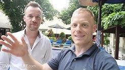 How Lucas Generates $30,000/mo w/ LinkedIn for his Digital Marketing Agency | Bali Bootcamp Day 4