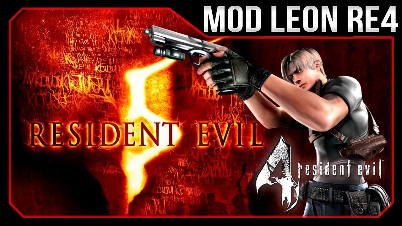 Resident Evil 5 Gold Edition Mod Leon S Kennedy Re4 Chris Bsaa