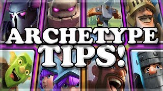 Archetype Challenge QUICK TIPS! | Clash Royale 🍊