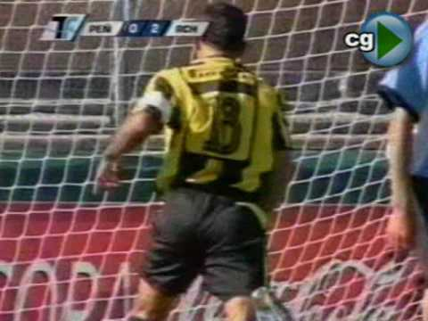 ROCHA CAMPEON 2005 - Entrega de la Copa y partido de cierre frente a Peñarol.