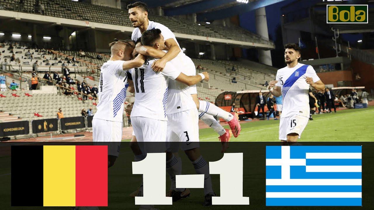 Βέλγιο - Ελλάδα 1-1 Στιγμιότυπα 3.06.2021