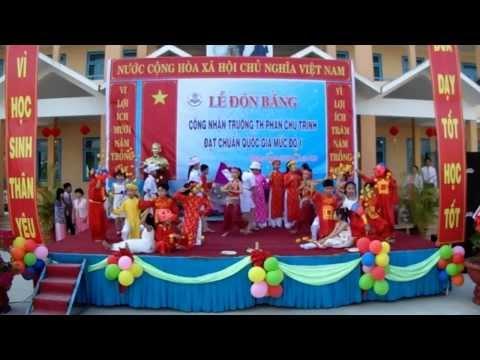 [TH05+] Văn nghệ đón bằng công nhận đạt chuẩn quốc gia - TH Phan Chu Trinh