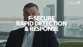 The market opportunity for F-Secure partners - F-Secure Rapid Detection & Response