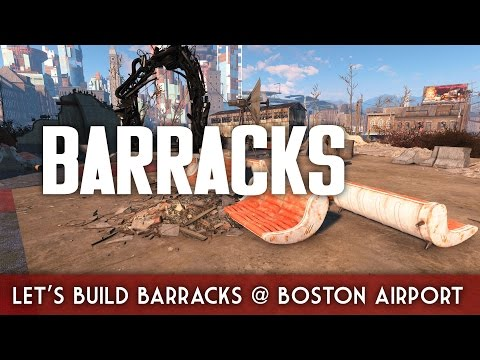 Let's Build a Barracks at Boston Airport