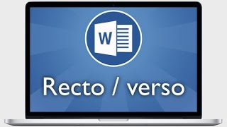Tutoriel Word 2013 - Imprimer en recto verso