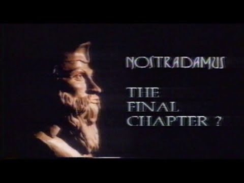 Nostradamus.The Final Chapter? 1989 Australia. Channel 7 Upd
