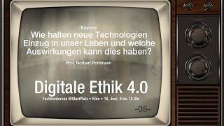 Wie halten neue Technologien Einzug in unser Leben? - 06 #DigitaleEthik40