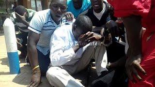 Dr. Kiiza Besigye arrested
