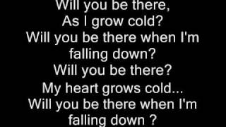 Will You Be There - Skillet w/lyrics