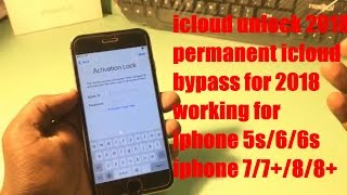 icloud unlock for Iphone 5s/6/6+/6s/6s+/7/8 permanently unlock your iphone February 2018 🔒🔒🔒🔒✅✅✅