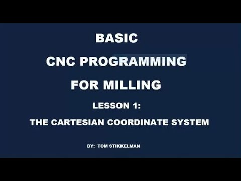 INTRODUCTION TO CNC MILL PROGRAMMING