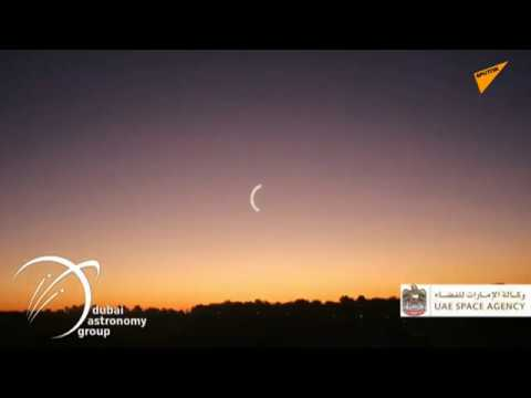 LIVE: Annular Solar Eclipse and 'Ring of Fire' Begins in the