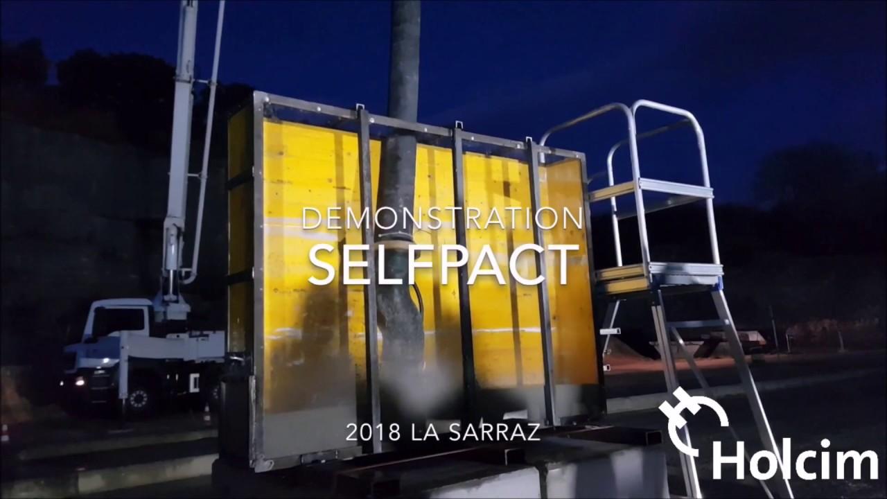 Selfpact Der Selbstverdichtende Beton Youtube