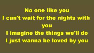 No One Like You~Scorpions~Lyrics