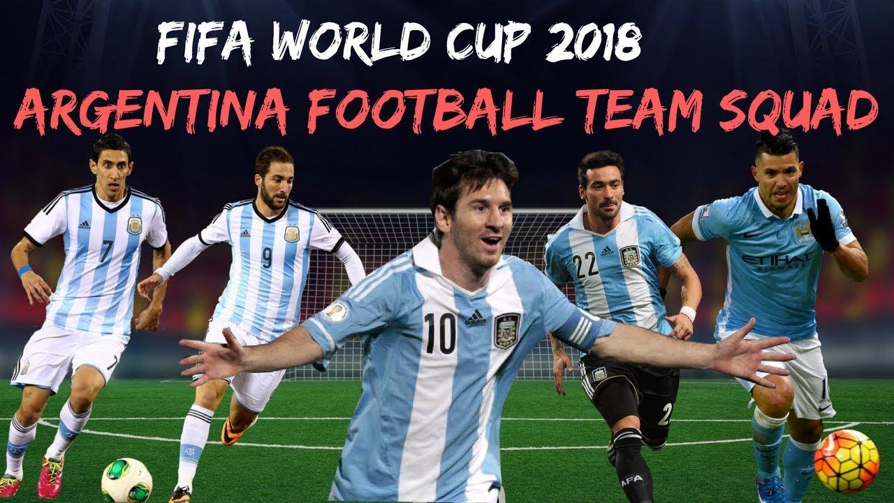 4ad1645b6 ARGENTINA NATIONAL TEAM SQUAD   PLAYERS LIST 2018