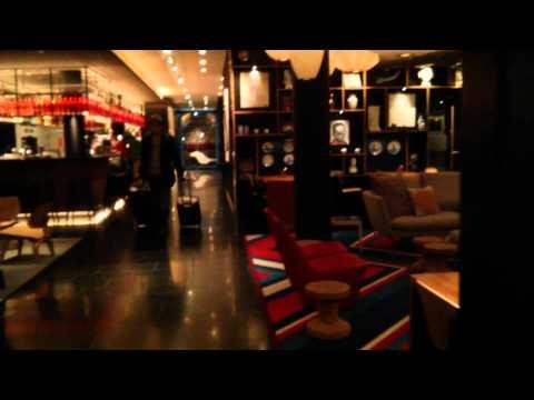 Citizen M Paris CDG. Airport Designer. Chic Hotel